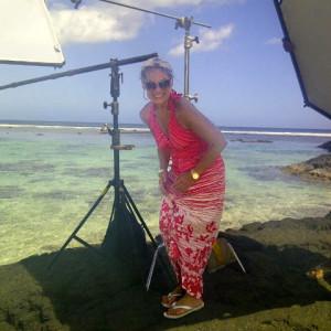 Lisa Germani On Set Survivor